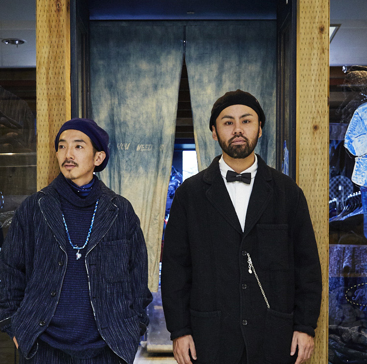 日本の生活や文化から生まれた、丈夫で風合い豊かなアイテム。