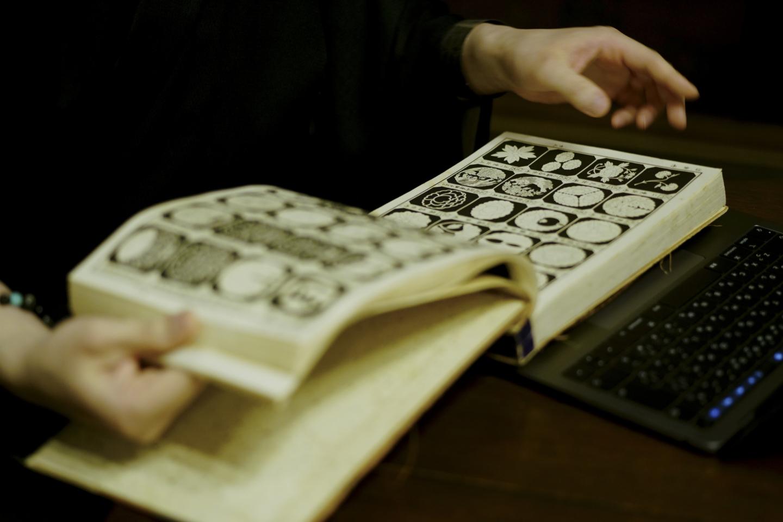 紋章上繪師の技術を受け継いできた「京源」。今も昔も変わらない日本特有の美徳は、家紋にこそ表現されている