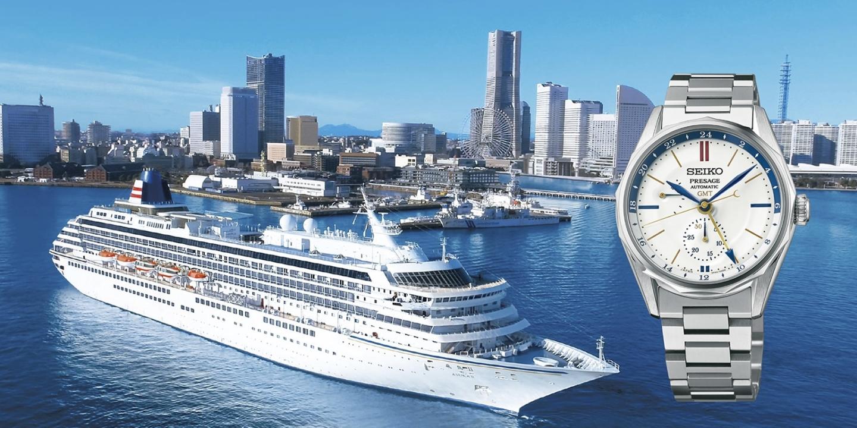 【セイコー】日本の美意識を世界に向けて発信するセイコー プレザージュから、 新デザインシリーズ「Ocean Traveler」が登場